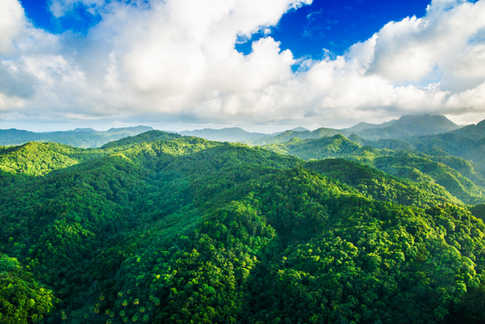 aerial photography in Saint Lucia