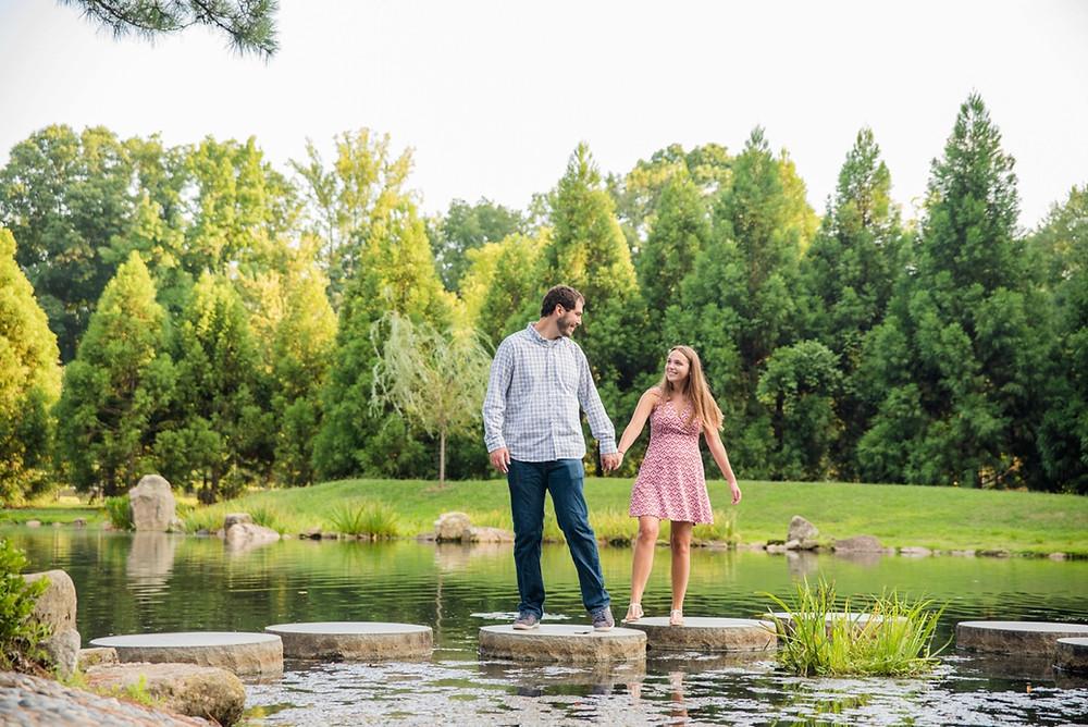 Maymont Park Richmond VA engagement photography