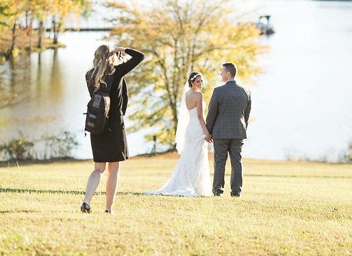 Carolin Martin Wedding Photography photographing a wedding at Shenandoah Crossing Resort in Virginia
