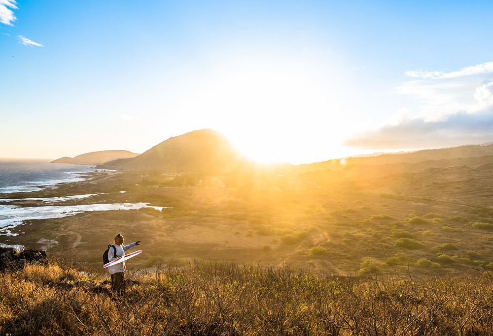 Makapu'u Lighthouse Trail, Oahu, Hawaii, Lifestyle photography, travel photography