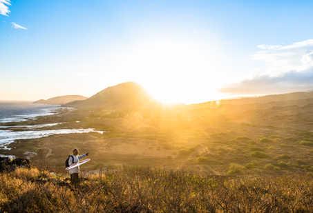 Makapu'u-Lighthouse-Trail-Sunset-Hawaii-