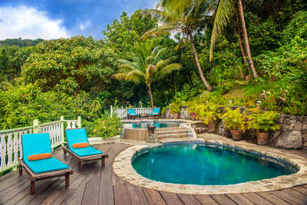 resort commercial exterior photography Caribbean
