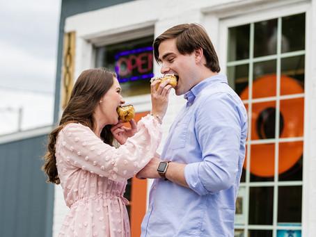 Rachel & Stephen's Engagement at Sugar Shack Donuts & Great Shiplock Park - Richmond, VA