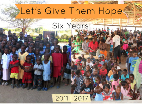 6 Years of Let's Give Them Hope!