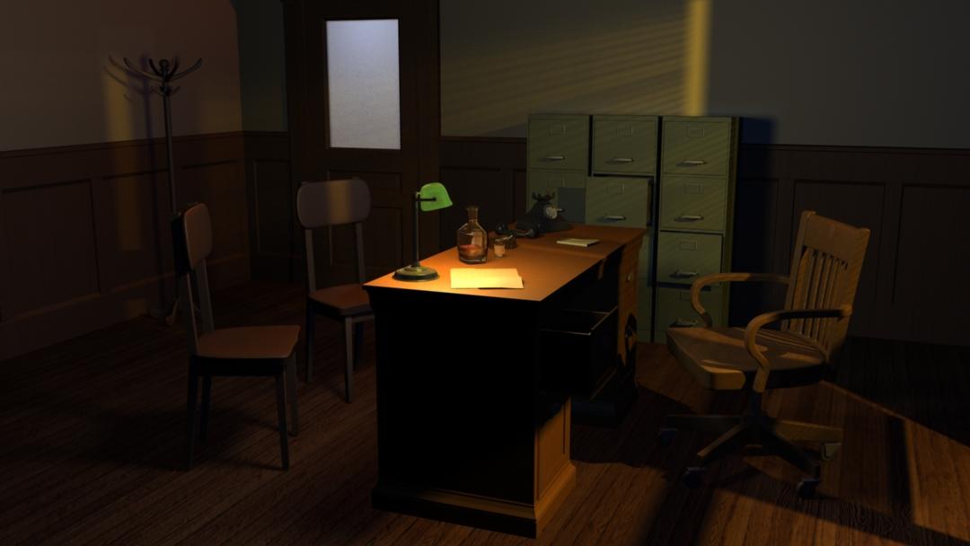 Marlowe's Office