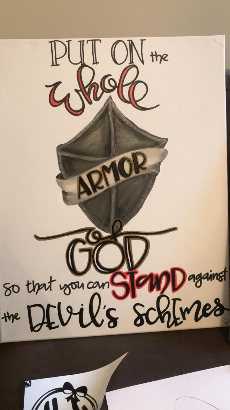 Armor of God canvas 2