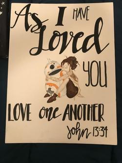 Rey, BB8 & Scripture