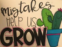 Growth Mindset Cactus