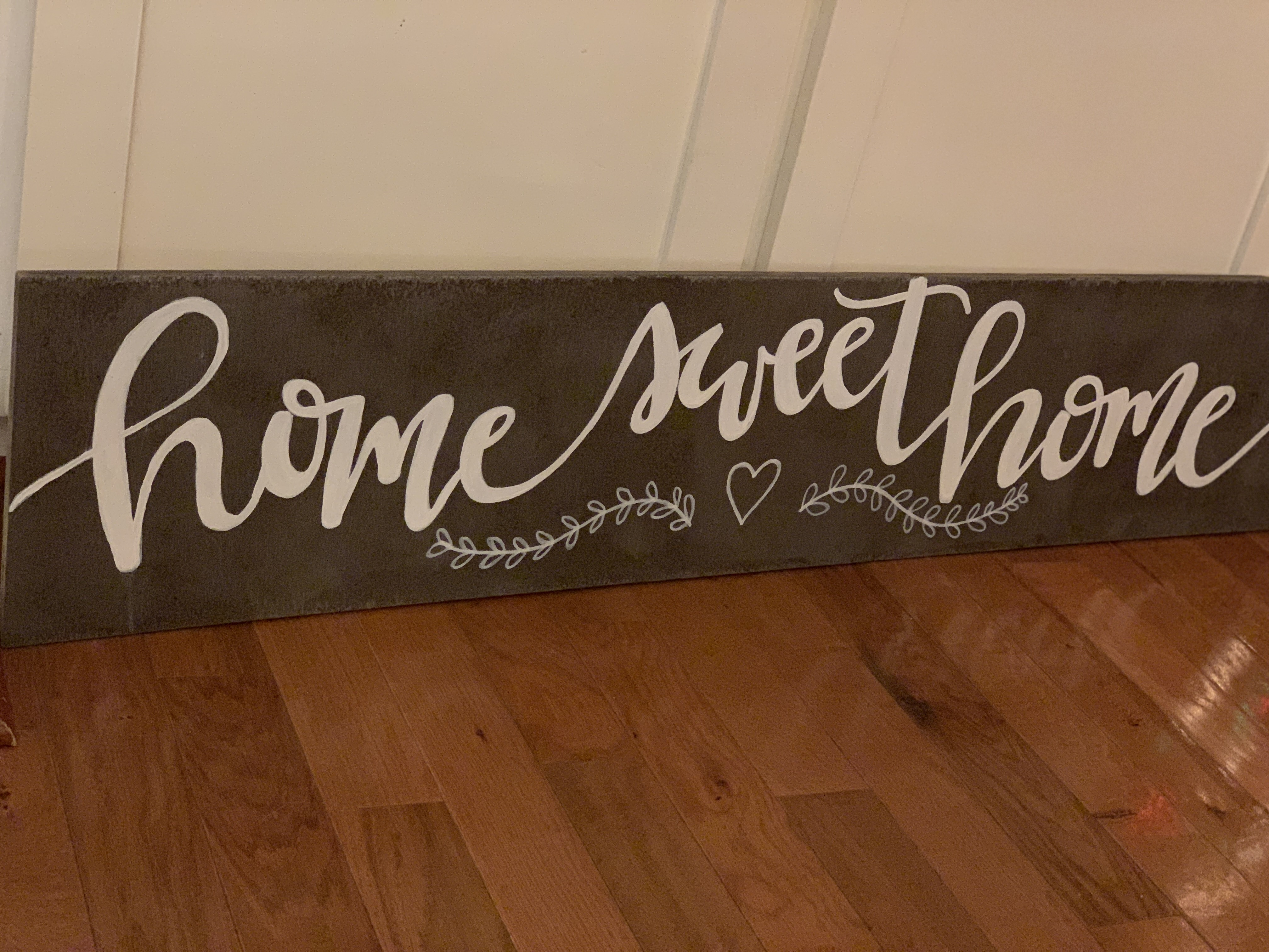 Home Sweet Home | Horizontal Wooden Sign | 16'x4'