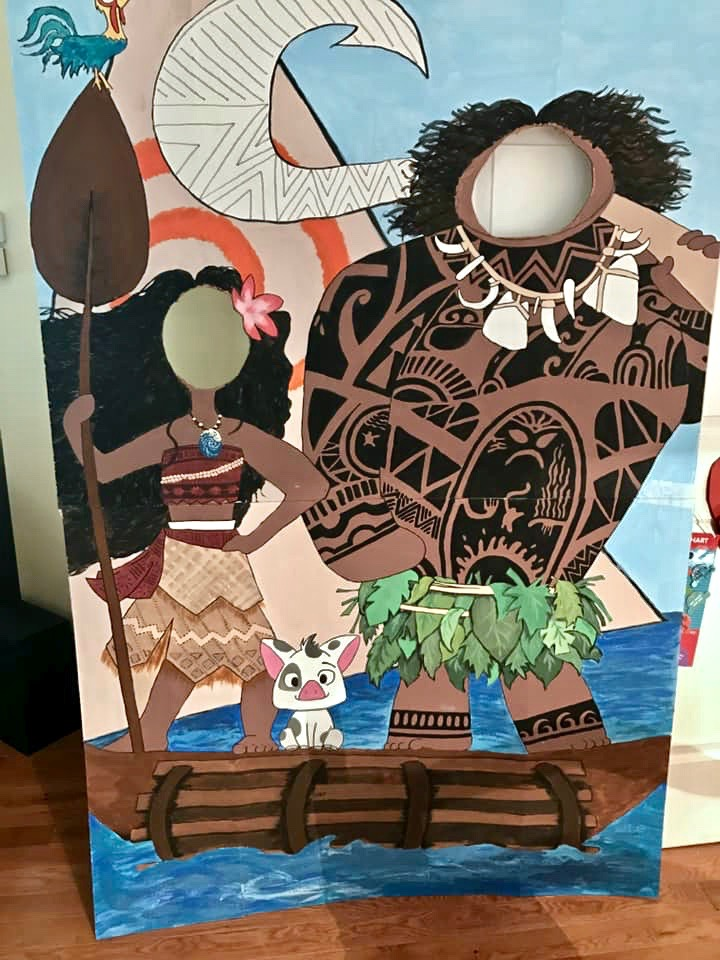 Moana photo booth