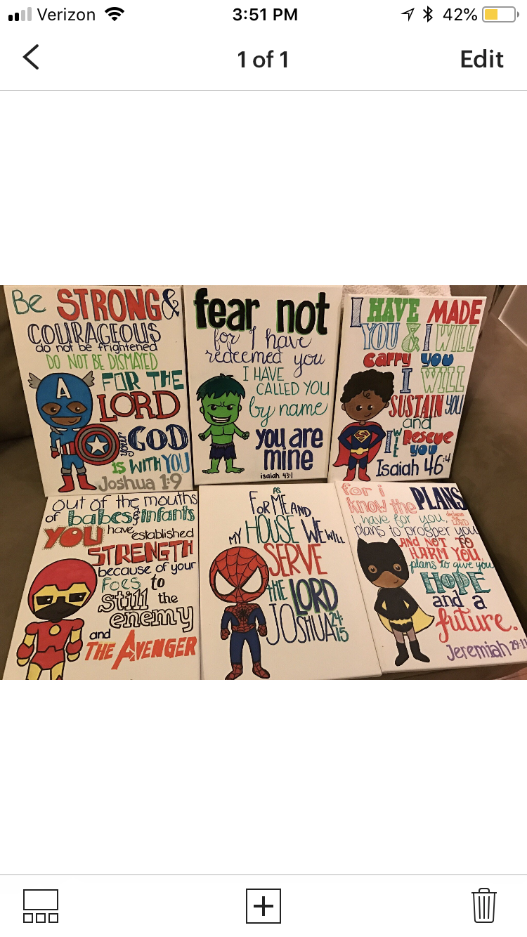 Superheros & Scripture