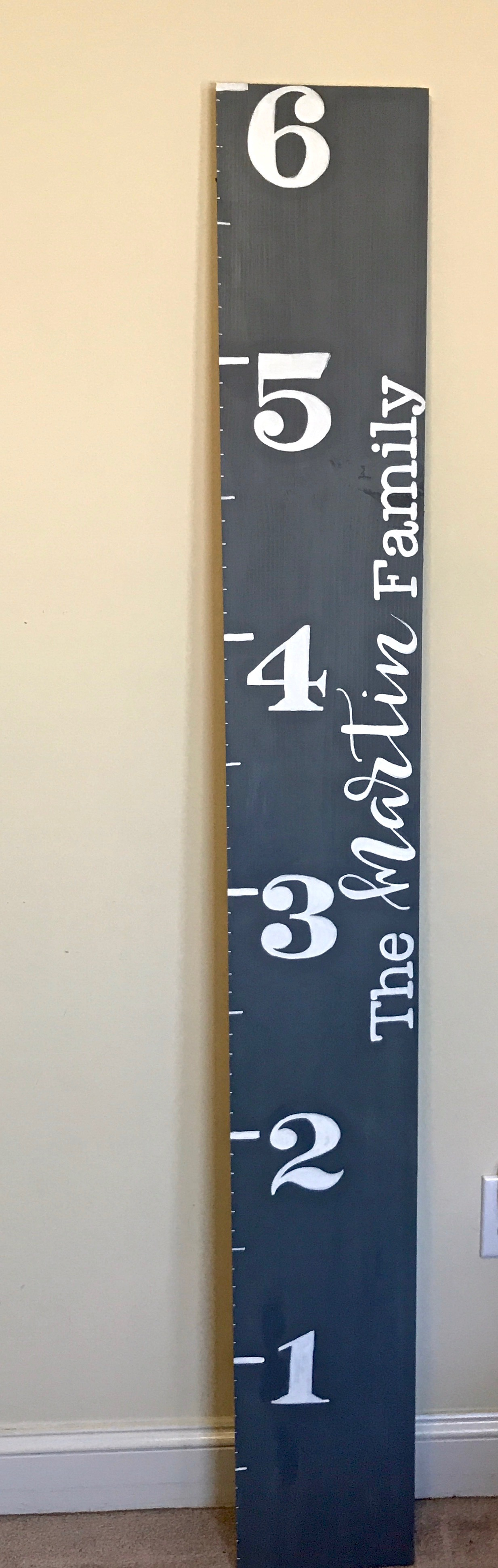 personalized growth chart
