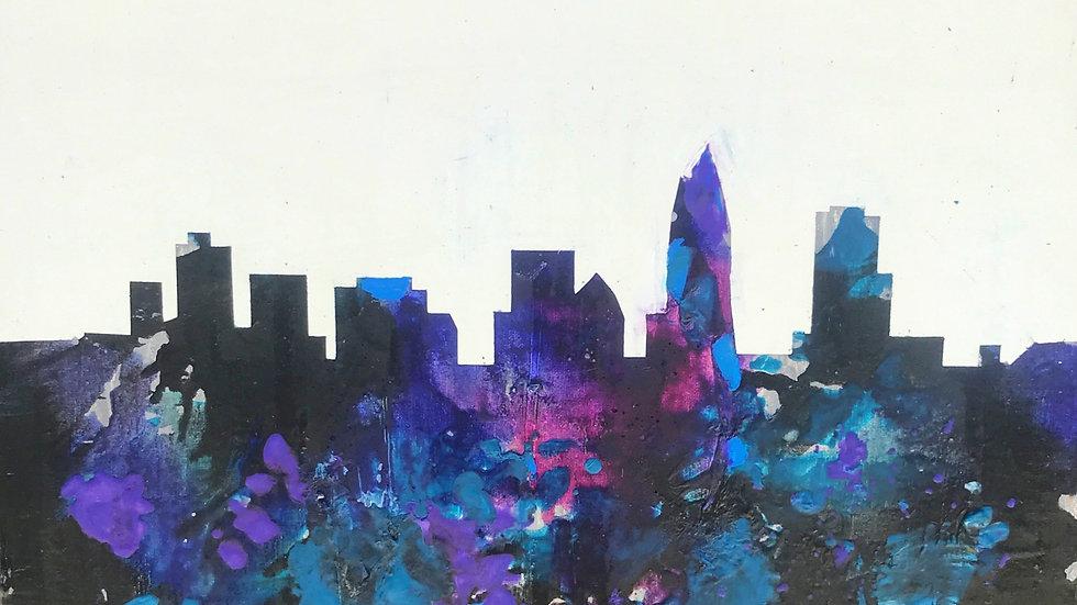 Charlotte Skyline Prints