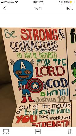 Captain America & Joshua 1:9