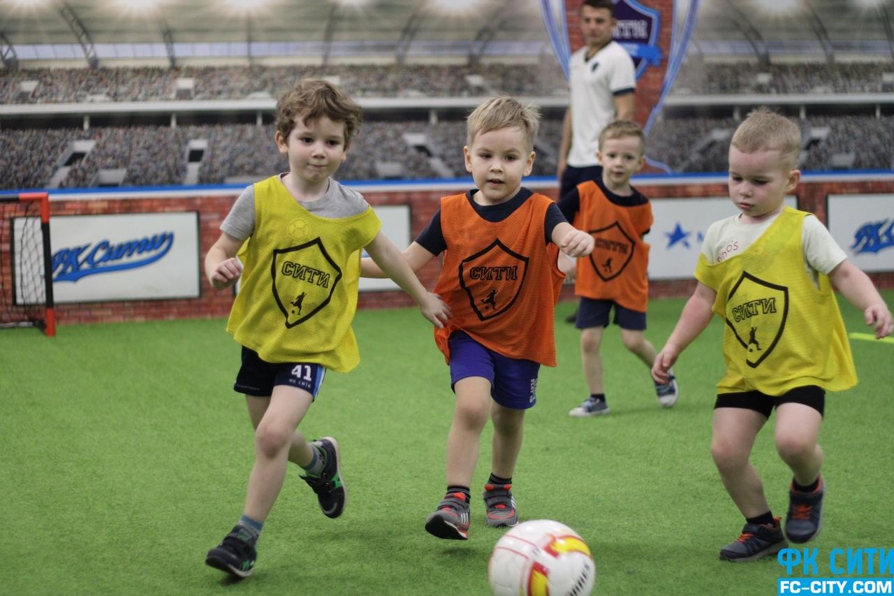 детская футбольная школа в Самаре
