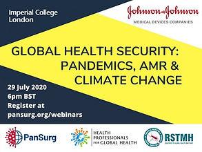 Global Health Threats webinar Thumbnail