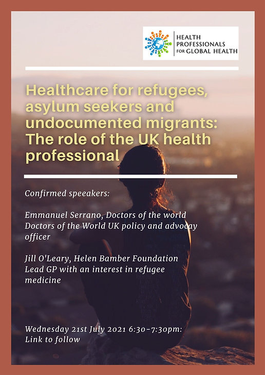 Health Professionals for Global Health presents a webinar in collaboration with Doctors of