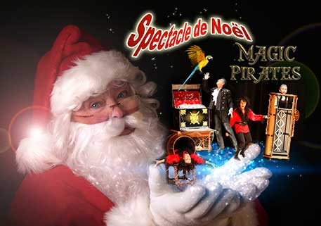 À voir les magiciens Magic Pirates Spectacle de Noël le 03 décembre 2016 à Grenoble