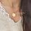 Thumbnail: Halskette Kompass - 18k vergoldet