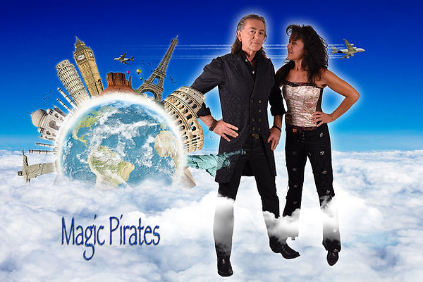 Magic Pirates Magicien international