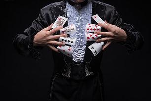 magie de table alphonse le magicien