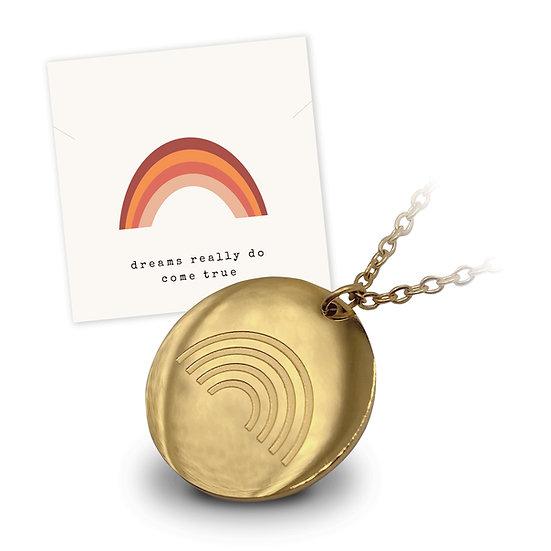Halskette Regenbogen - 18k vergoldet