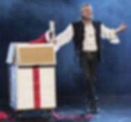 Apparition du Pére Noël Alphonse Magicien