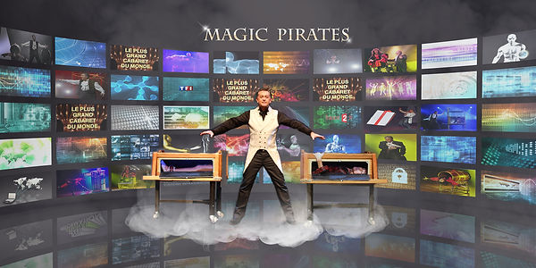 artiste magicien magic pirates