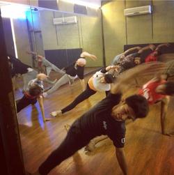 Floorwork class