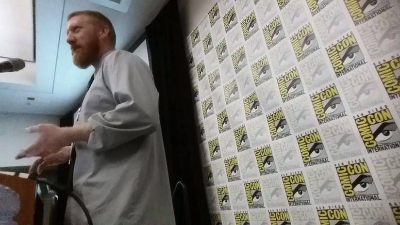 Paul Giret at Comic Con 01