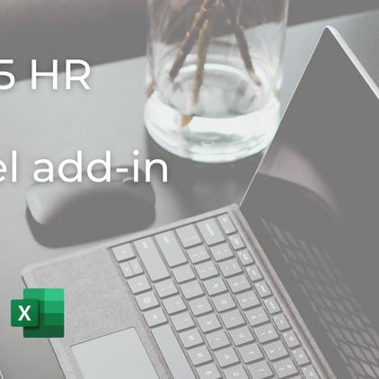 D365 HR + Excel add-in: ¿qué es?