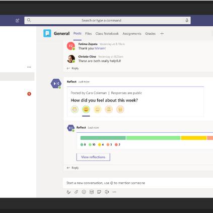 Microsoft Teams: Fan de la colaboración.