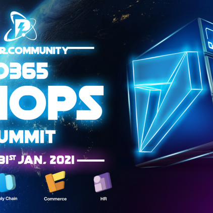 ⚡️ D365 F&O Summit 2021 is here!