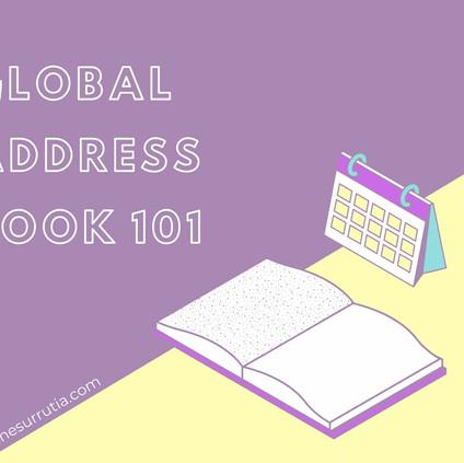 Global Address Book 101