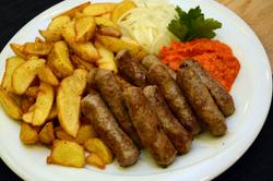 Čevapčići, traditional Croatia food