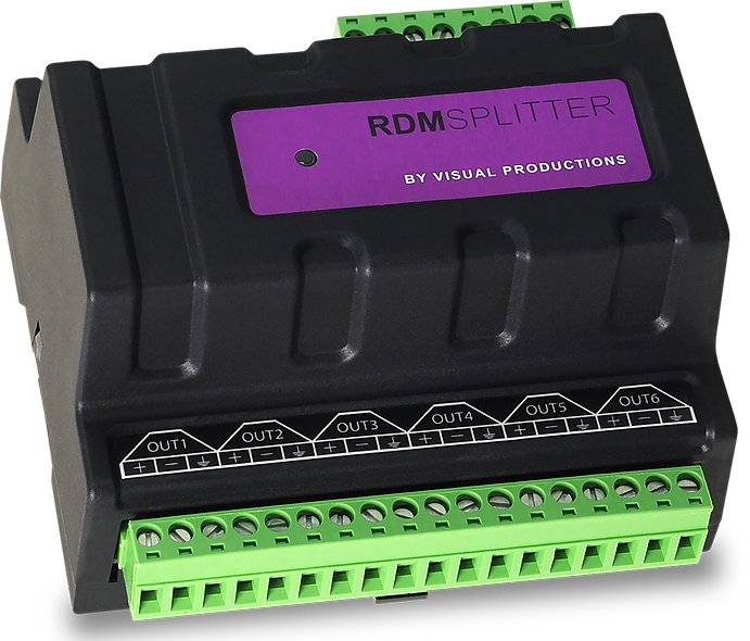 Visual Productions RDMSPLITTER (RJ-45)