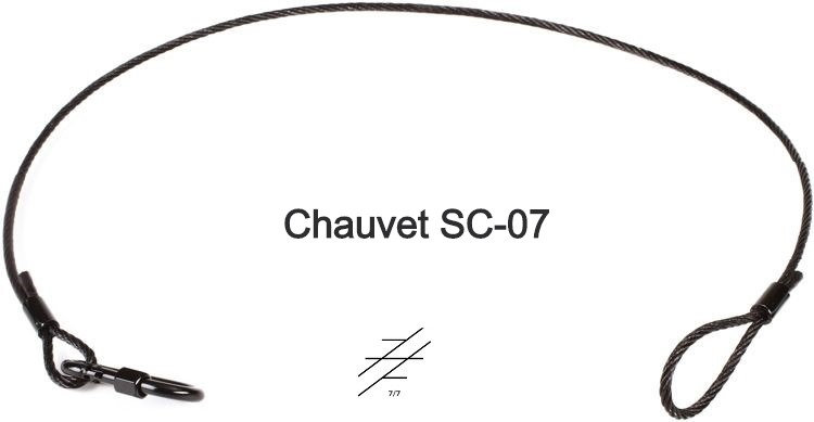 "CHAUVET PROFESSIONAL SC-07 Safety Cable (35"")"
