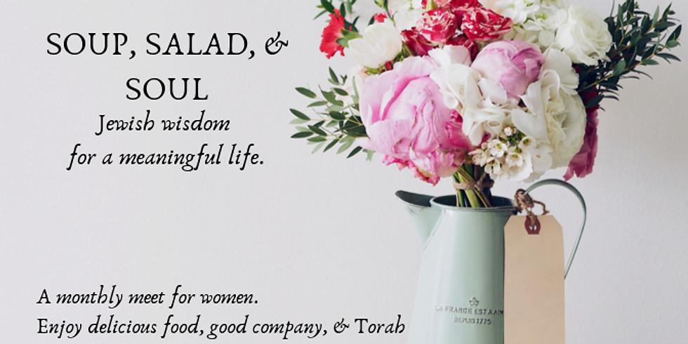 Soup, Salad, and Soul - Chanukah Edition