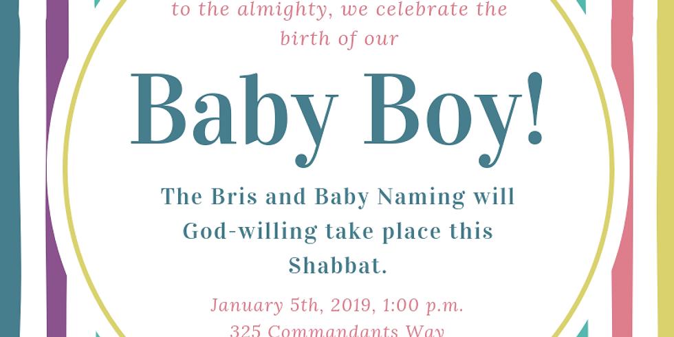 Bris and Baby Naming - Baby Boy Baron
