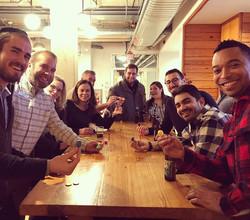 Drinks & Dreidels _thebatchyard !_#chanukah #hannukah #happychanukah #drinks #dreidels #latkes #sufg