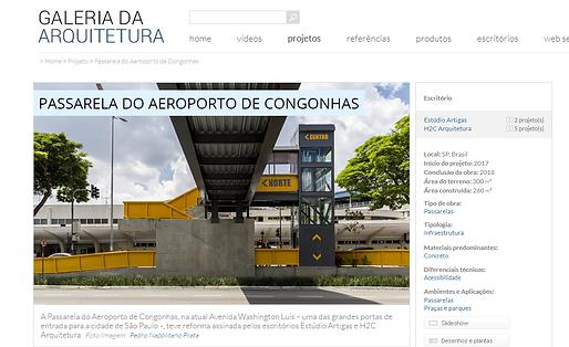 Passarela Congonhas_Galeria da Arquitetu