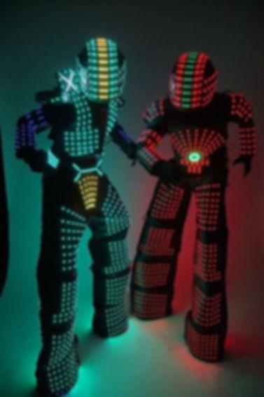 LED robots new york entertainment dj