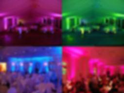 wireless uplighting dj entertainment services
