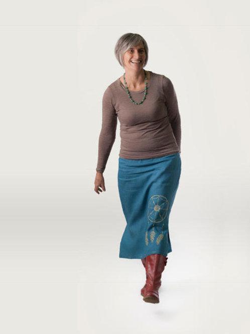 Dream Catcher Skirt (Calf Length)