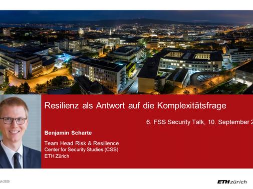 6. FSS Security Talk - Resilienz / Resilience