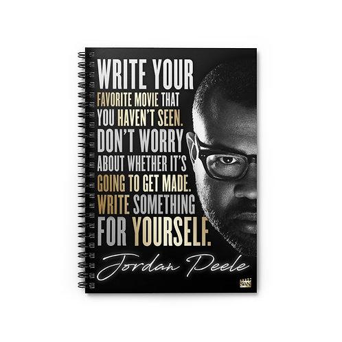 Jordan Peele Motivational Notebook