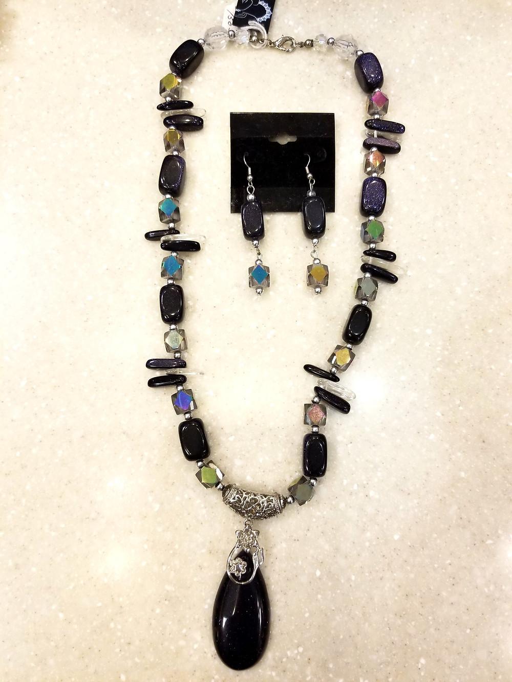 Jewelry By Dre - Blue Goldstone Jewelry