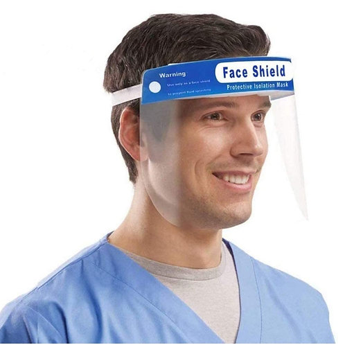 Protective Visor with Eye & Head Protection