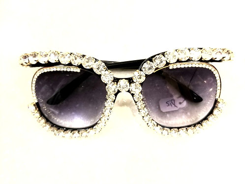 Bling Gem Wrapped Shades