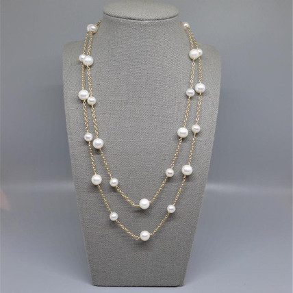 Pearl's and Pearl Necklaces is a fashion statement that's always in style